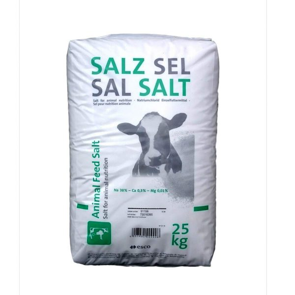 krmná sůl v zemědělství